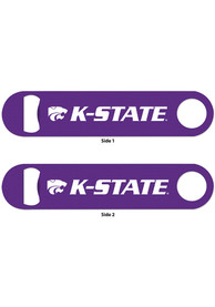 K-State Wildcats 2-sided Metal Bottle Opener