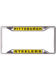Pittsburgh Steelers Metallic Inlaid License Frame