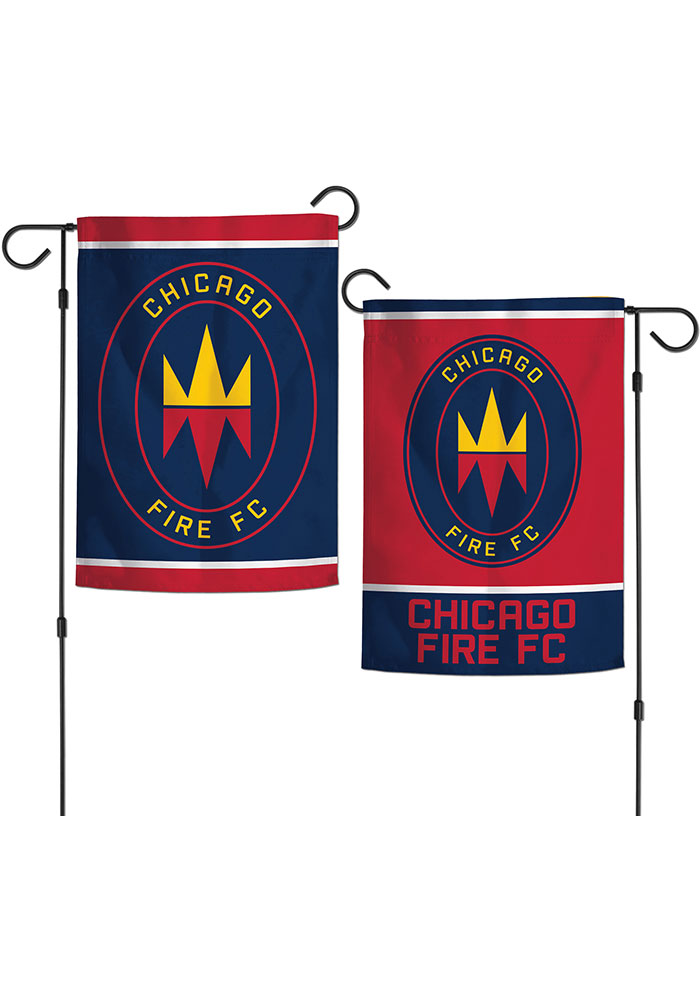 Chicago Fire 2 Sided Garden Flag - Image 1