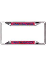 Cleveland Indians Metallic Inlaid License Frame