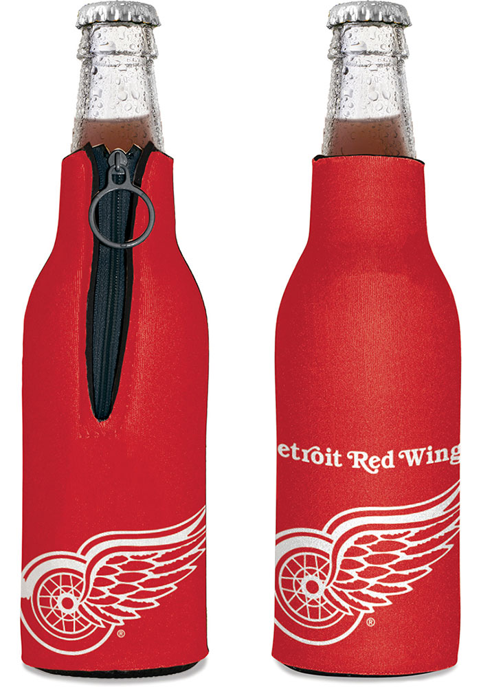 Detroit Red Wings 12oz Bottle Coolie