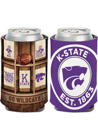 K-State Wildcats 12 oz Can Coolie