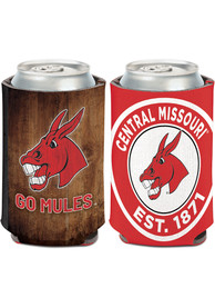 Central Missouri Mules 12 oz Can Coolie