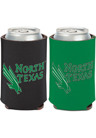 North Texas Mean Green 12 oz Can Coolie