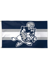 Dallas Cowboys Vintage Silk Screen Grommet Flag
