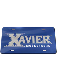 Xavier Musketeers Team Color Car Accessory License Plate