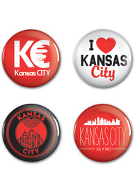 Kansas City 4pk Button