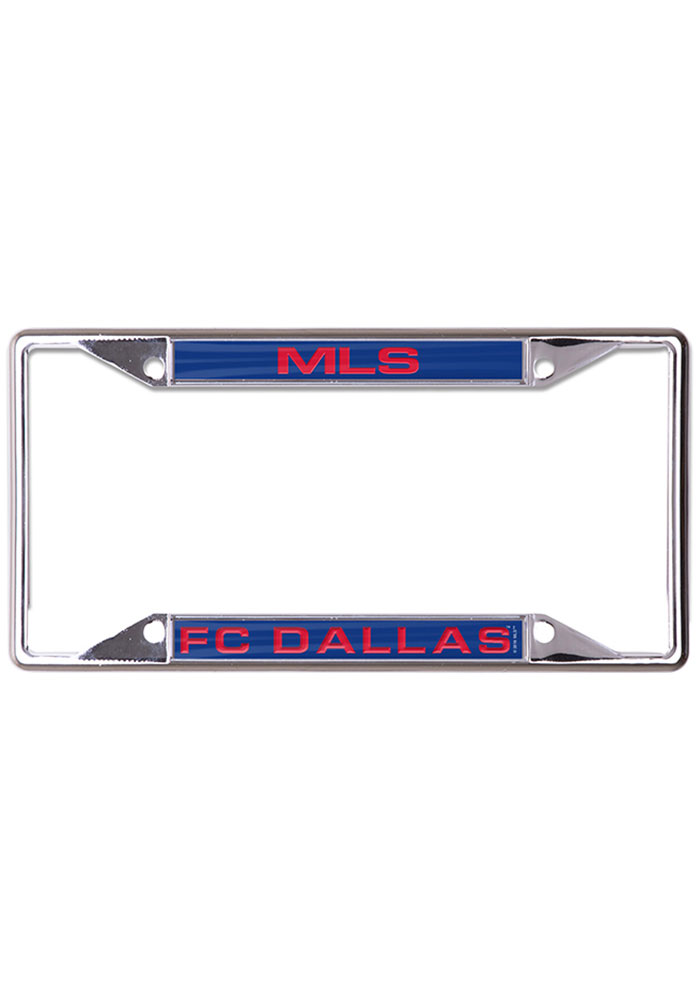 FC Dallas Metallic Inlaid License Frame