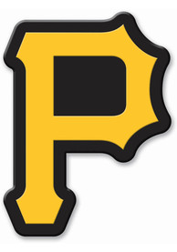 Pittsburgh Pirates Flex Auto Decal - Yellow