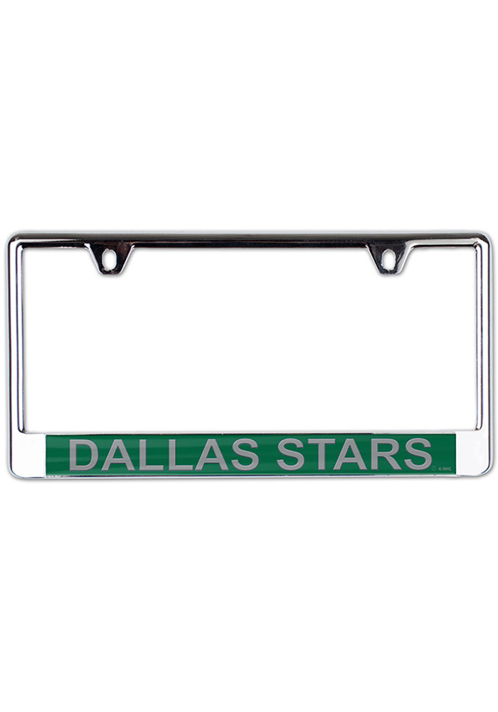 Dallas Stars Metallic Printed License Frame - Image 1