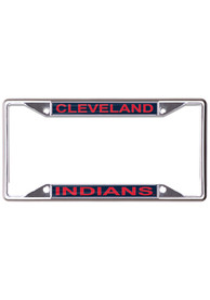 Cleveland Indians Metallic Printed License Frame