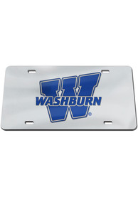 Washburn Ichabods W Logo Mirror Car Accessory License Plate