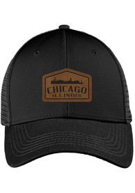 Chicago Caffeine Roamer Trucker Adjustable Hat - Black
