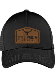 Dallas Ft Worth Roamer Trucker Adjustable Hat - Black