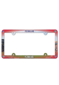 FC Dallas Plastic Full Color License Frame