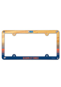 Oklahoma City Thunder Plastic Full Color License Frame