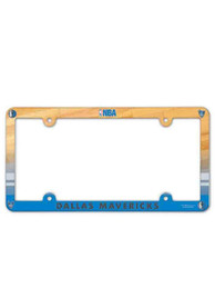 Dallas Mavericks Plastic Full Color License Frame
