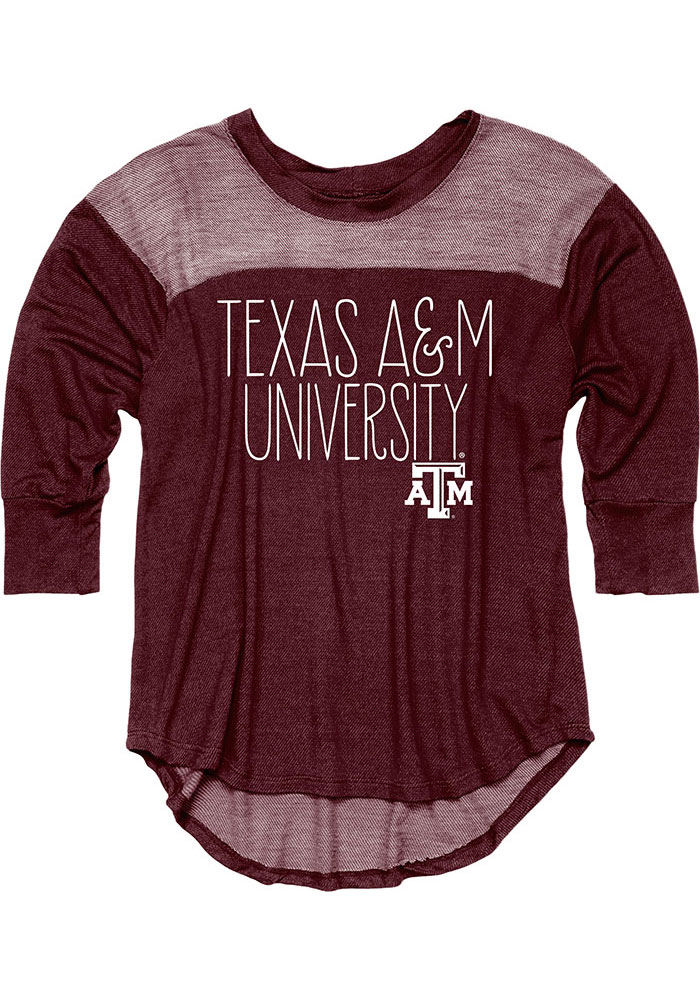 Texas A&M Aggies Womens Lotza Maroon T-Shirt