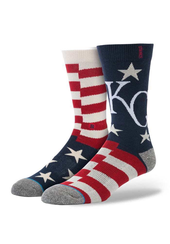 Kansas City Royals Stance Brigade Mens Crew Socks - Image 1
