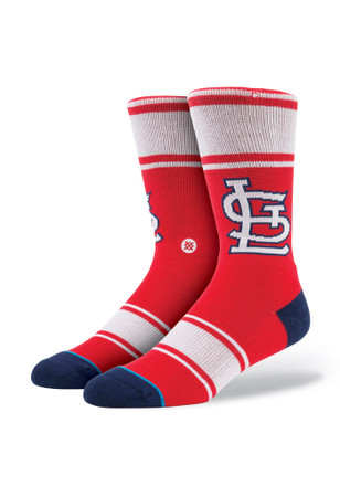 Stance St Louis Cardinals Mens Red