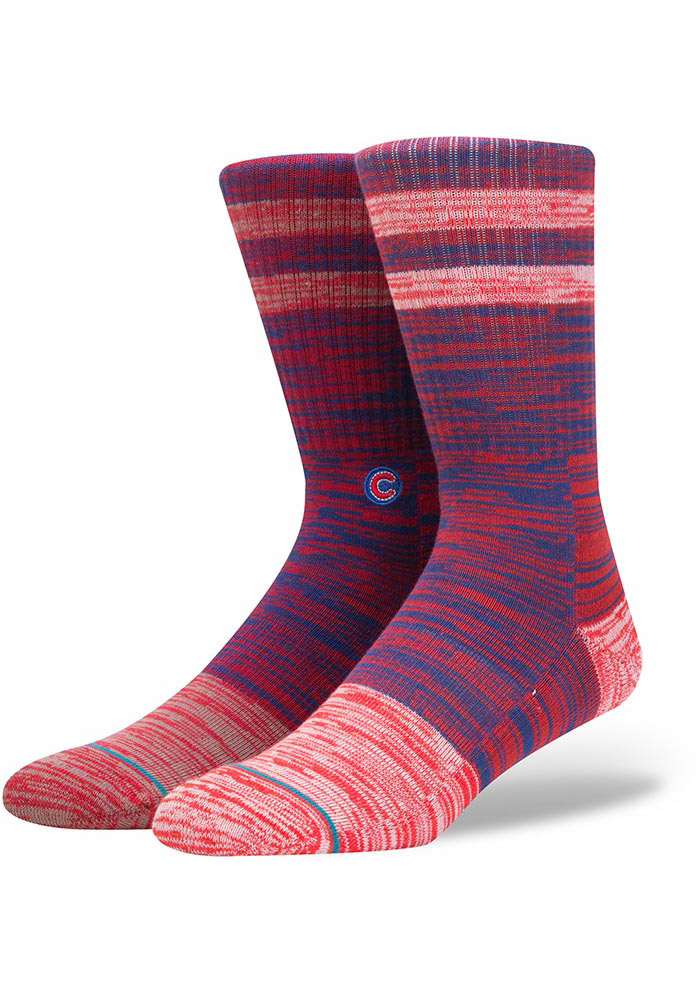Chicago Cubs Stance Greystone Mens Crew Socks - Image 1