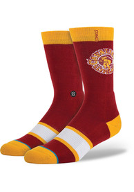 Stance Cleveland Cavaliers Mens Red Arena Collection Crew Socks
