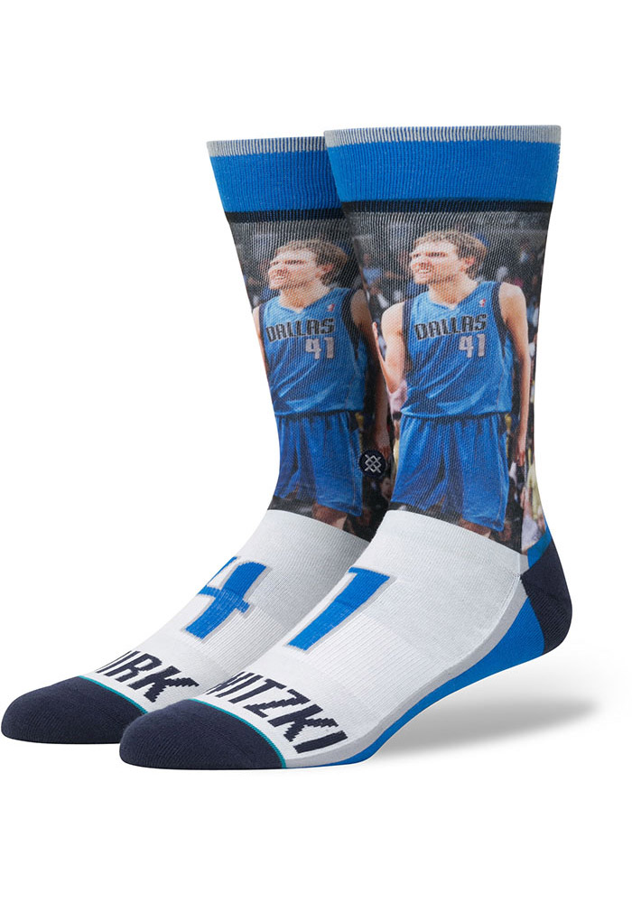 Dirk Nowitzki Dallas Mavericks Future Legends Mens Crew Socks - Image 1