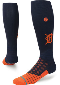Stance Detroit Tigers Mens Navy Blue On Field Crew Socks