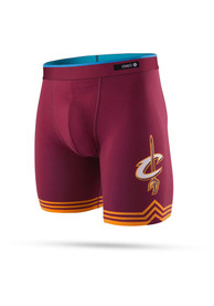 Stance Cleveland Cavaliers Maroon Tie Dye Boxers