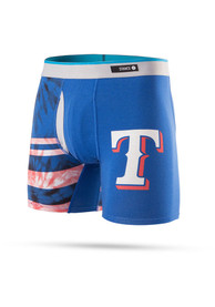 Stance Texas Rangers Blue Tie Dye Boxers