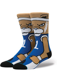 Stance Kentucky Wildcats Mens Blue Lifestyle Product Crew Socks