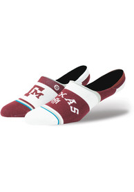 Stance Texas A&M Aggies Mens Maroon Super Invisible Sock No Show Socks
