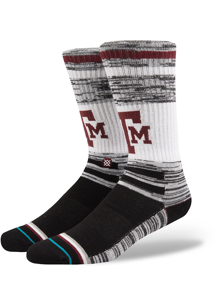 Texas A&M Aggies Stance Varsity Sock Mens Crew Socks - Image 1