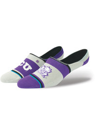 Stance TCU Horned Frogs Mens Purple Super Invisible Sock No Show Socks