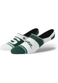 Stance Michigan State Spartans Mens Green Super Invisible Sock No Show Socks