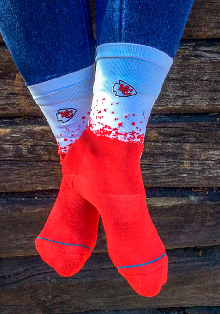 Kansas City Chiefs Stance Fade 2 Mens Crew Socks - Image 2