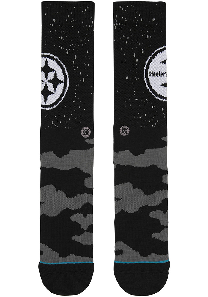 Pittsburgh Steelers Stance Reflective Mens Crew Socks - Image 2