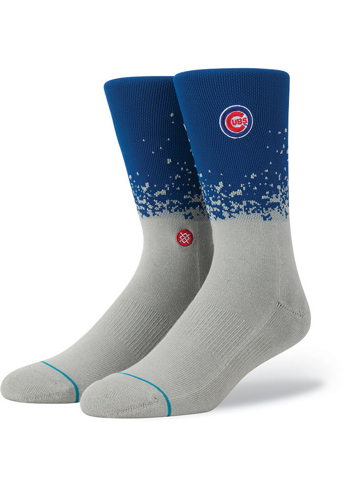 Chicago Cubs Stance Fade Mens Crew Socks - Image 1