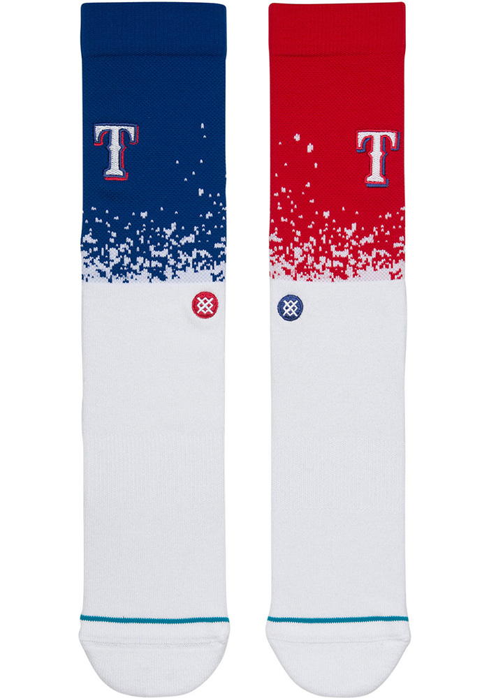 Texas Rangers Stance Fade Mens Crew Socks - Image 2