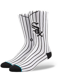 Stance Chicago White Sox Mens White Jersey Pack Crew Socks