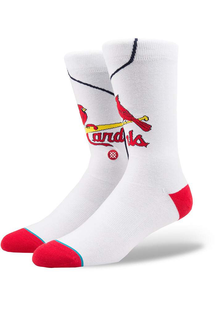 St Louis Cardinals Stance Jersey Pack Mens Crew Socks - Image 1