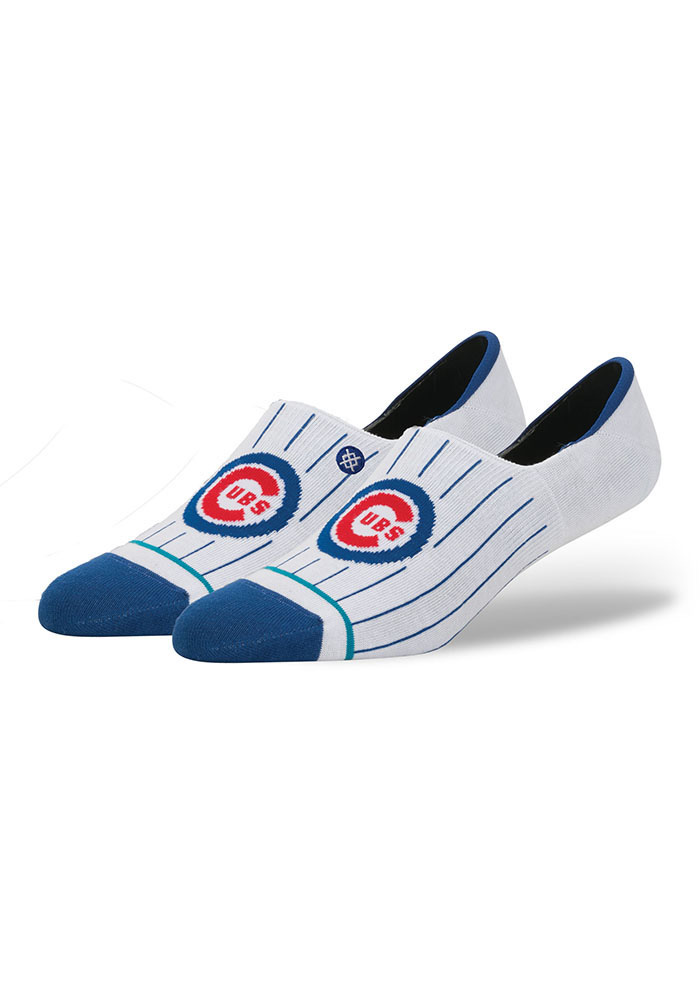 Stance Chicago Cubs Super Invisible Mens No Show Socks - Image 1