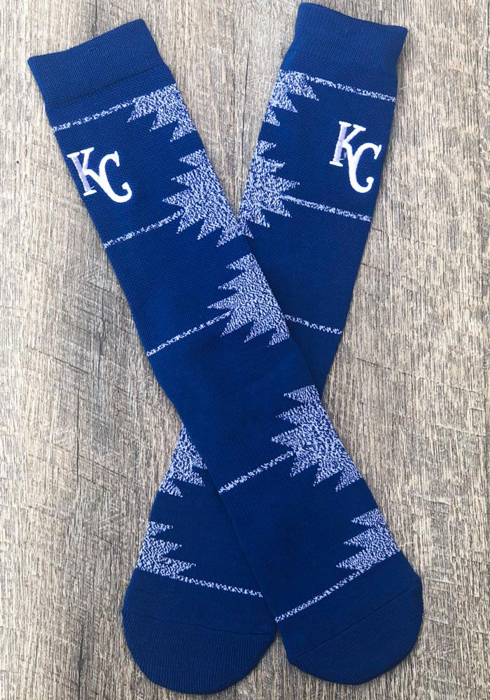 Kansas City Royals Geo Mens Crew Socks - Image 2