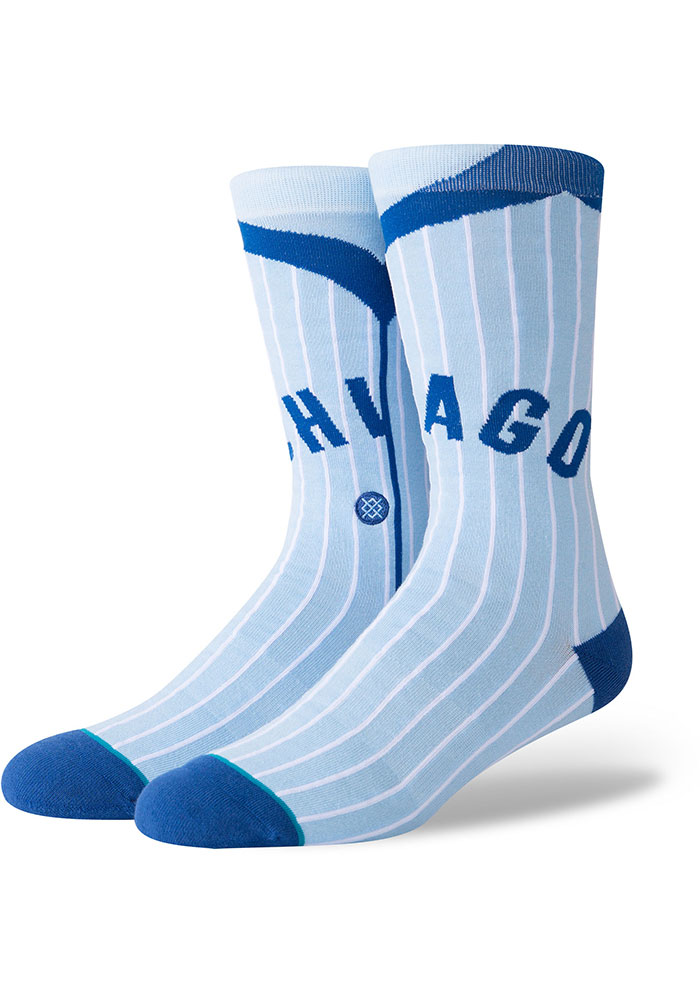 Chicago Cubs Stance Road 1978 Mens Crew Socks - Image 1