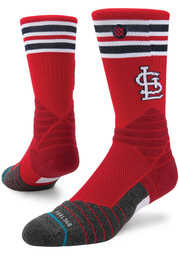 Stance St Louis Cardinals Red Diamond Pro Youth Crew Socks