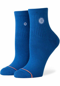 Stance Chicago Cubs Womens Blue Lowrider No Show Socks