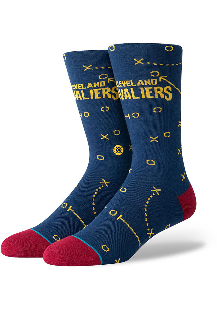 Cleveland Cavaliers Playbook Mens Dress Socks - Image 1