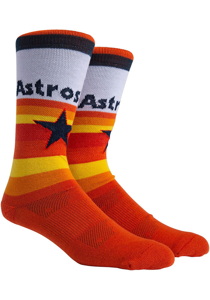 Houston Astros Uniform Crew Socks - White