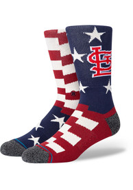 St Louis Cardinals Stance Brigade Crew Socks - Red