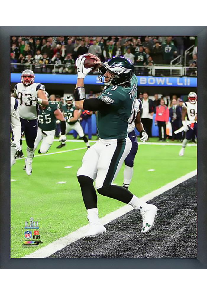 low priced bfbe3 675a2 Nick Foles Philadelphia Eagles Super Bowl LII Champs 8x10 Foles Touchdown  Framed Posters